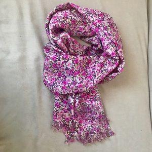 J Crew silk scarf